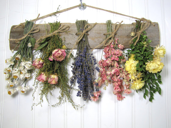Dried Flower Swag