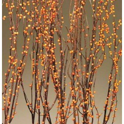 Berry Birch Branches - Bittersweet (Orange)