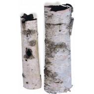 White Birch tubes - Birch Cylinders