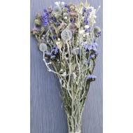 Dried Flower Blue Bouquet Garden Bunch