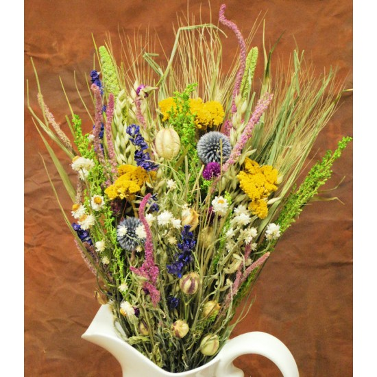 Dried Flower Bouquet -  Summer Sizzle Bunch