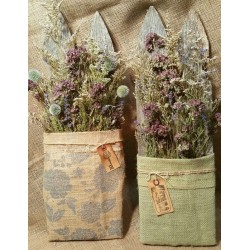 Cottage Charm Flower Fence Wall Hanging