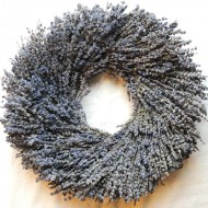 Lavender Wreath - Round Shaped