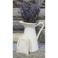 Lavender Bud Muslin Sachets | Organic & Kosher certified lavender buds