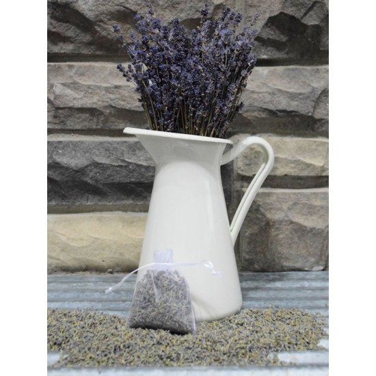 Lavender Bud Organza Sachets - Organic & Kosher certified lavender buds