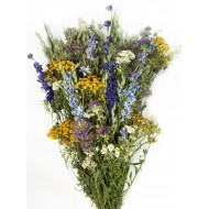 Dried Mountain Meadow Flower Bouquet