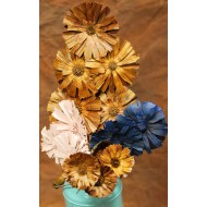 Dried Protea Flowers Stemmed
