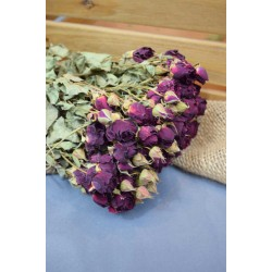Massive Dried Rose Bouquet - Red