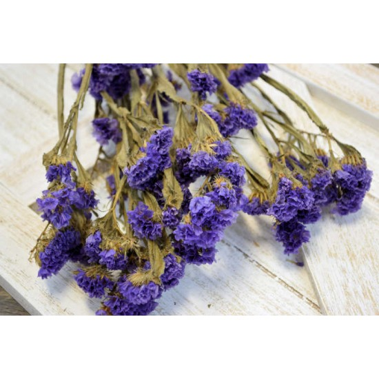 Dried Statice Sinuata Flower Bunch - Lavender