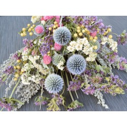 Dried Pastel Flower Bouquet