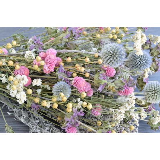 Dried Pastel Flower Bouquet