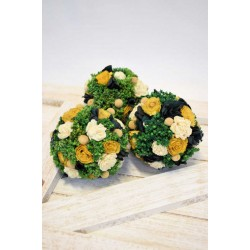 Dried Mini Flower Decor Balls