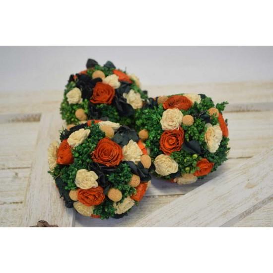 Dried Mini Flower Decor Balls