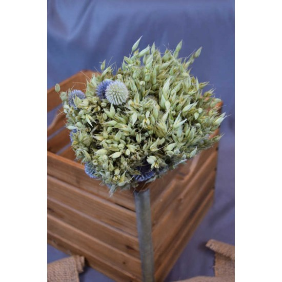 Wild and Free Echinops Oats Bouquet