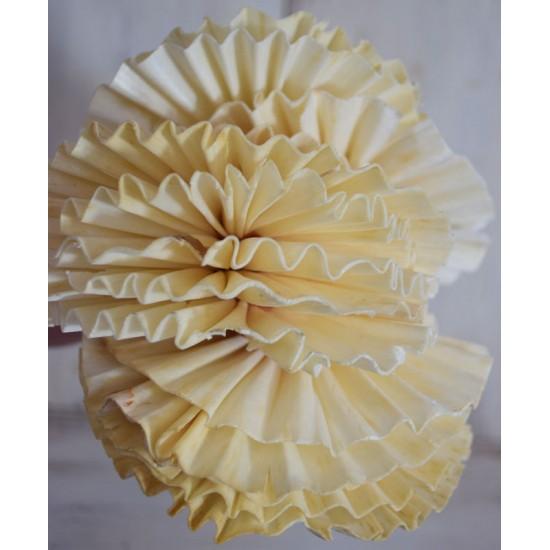 Wood Fan Flowers - Sola Fans