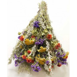 Dried Flower Bunch Yellow Bouquet - XL