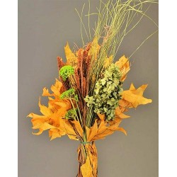 Yellow Oak Leaves Bouquet
