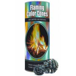 Magic Crystal Cones for Colored Fires