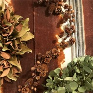 Natural Cone Garland - 5ft