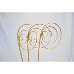 Dried Cane Spirals - Natural