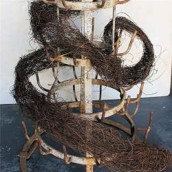 Dried Angel Vine Garland - 9 foot