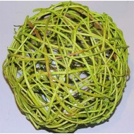 Curly Willow Decorative Balls - Basil