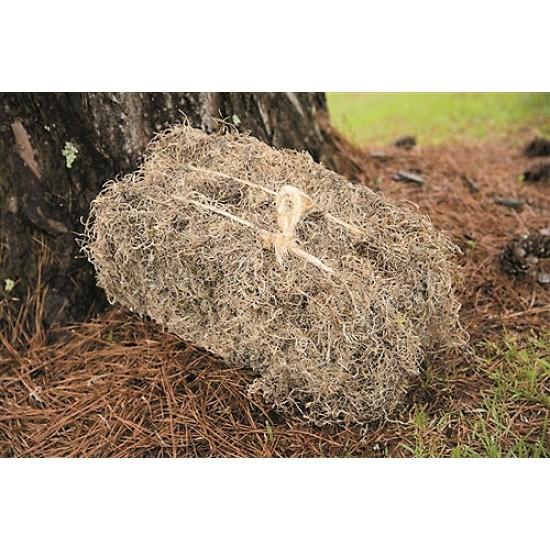 Dried Spanish Moss Bales - 4 Natural Bales