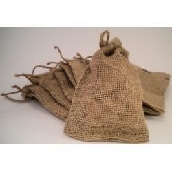 Burlap Bags - Satchel Bags - Great for Gifts Bags