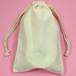 Muslin Bags - Satchel Bags - Great for Gifts and Lavender Bags