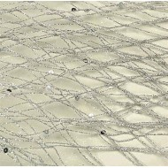 Silver Netting - Decorative Netting