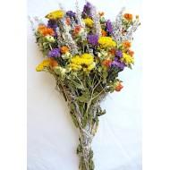 Dried Flower Bouquet - Yellow Bunch