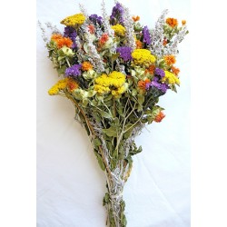 Dried Flower Bouquet - Yellow Bunch