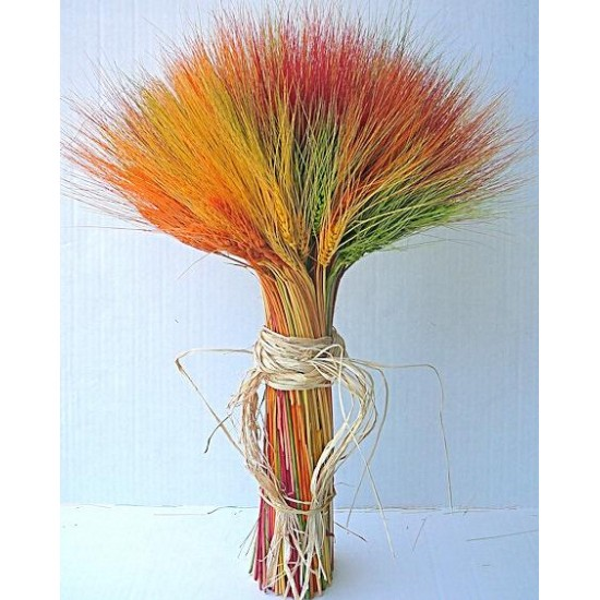 Dyed Wheat Stack (2lb)