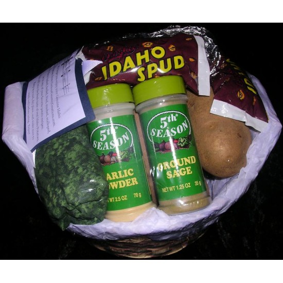 Idaho Potato Deluxe Gift Basket