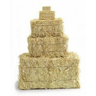 Mini straw bales for sale - 5 inch