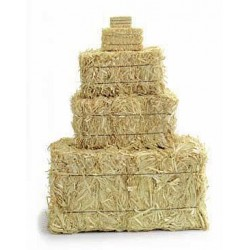 Mini Straw Bales - 2.5 inch (2 per bag)