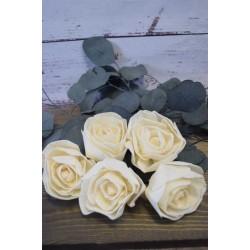 Wood Lena Rose - Plain Rose