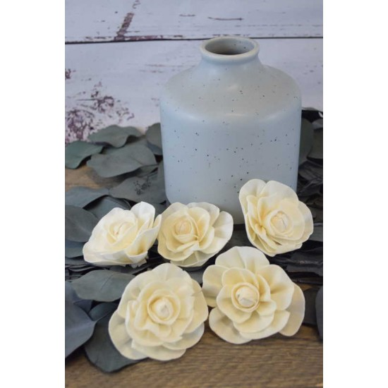 Sola Wood Lemon Bud Protea