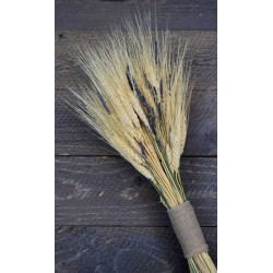 Vintage Wheat and Lavender Bouquet -  10oz