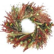 Beautiful Bird Feeder & Decorative Wreath - 22 inch