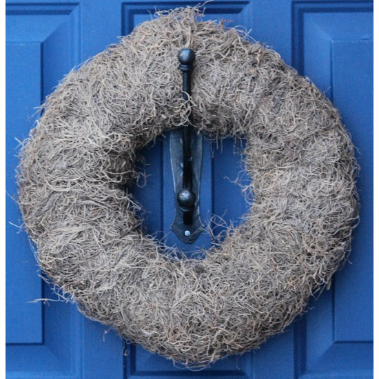 Natural Spanish Moss Wreath Base - 12