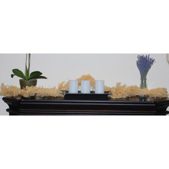 Dried Babys Breath Garland - 6 Feet Long