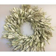 Natural Integrifolia Wreath - 17 or 24 inches