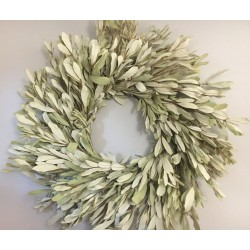 Natural Integrifolia Wreath - 17 or 24 inches