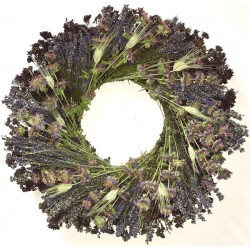 Dried Lavender Medley Wreath