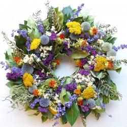 Little Garden Wreath - Dried 15 inch