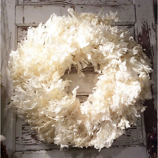 White Oak Leaves Wreath Extra Large 26