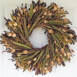 Bird Lovers Wreath - 22 inch