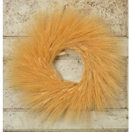 Extra Large Natural Wheat Wreath - 26 inch