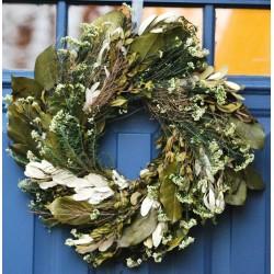 English Angel Vine White Wreath